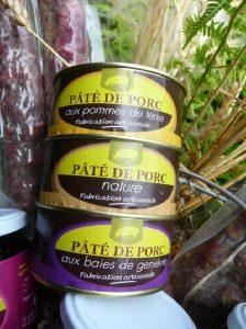 Pâté de porc - Produits de terroir Meyrueis Hôtel Family & Spa
