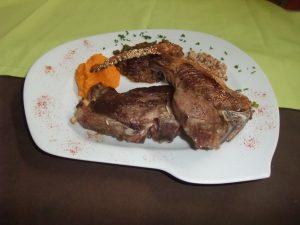 Côtes de Mouton grillées des Causses
