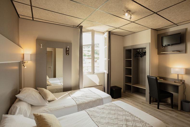 Room </br>Hôtel Family & Spa Meyrueis